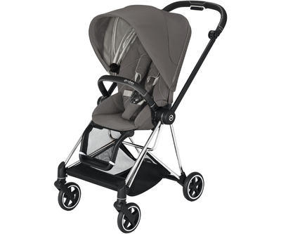 Kočárek CYBEX Mios Chrome Black Seat Pack 2021 včetně korby, soho grey - 2