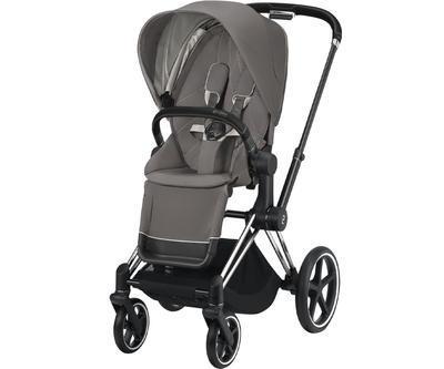 Kočárek CYBEX Priam Chrome Black Seat Pack 2021 včetně korby - 2