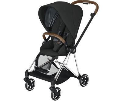Kočárek CYBEX Mios Chrome Brown Seat Pack 2021 včetně korby, deep black - 2