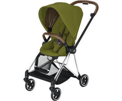 Kočárek CYBEX Set Mios Chrome Brown Seat Pack 2021 včetně Cloud Z i-Size - 2