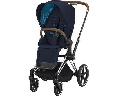 Kočárek CYBEX Priam Chrome Brown Seat Pack 2021 včetně korby - 2