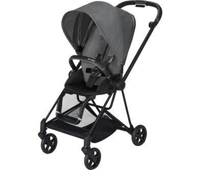 Kočárek CYBEX Mios Matt Black Seat Pack PLUS 2021 včetně korby, manhattan grey - 2