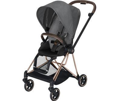 Kočárek CYBEX Mios Rosegold Seat Pack PLUS 2021 včetně korby, manhattan grey - 2