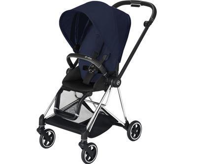 Kočárek CYBEX Mios Chrome Black Seat Pack PLUS 2021 včetně korby, midnight blue - 2