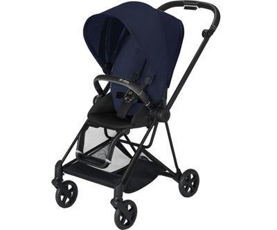 Kočárek CYBEX Mios Matt Black Seat Pack PLUS 2021 včetně korby, midnight blue - 2