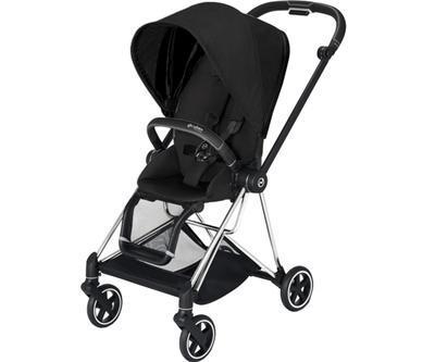 Kočárek CYBEX Mios Chrome Black Seat Pack PLUS 2021 včetně korby, stardust black - 2