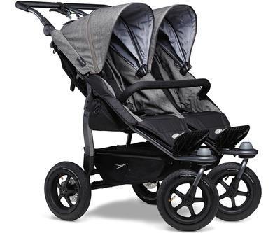 Kočárek TFK Duo Stroller Air Wheel Premium 2021 včetně Duo Combi Premium a 2 autosedaček - 2