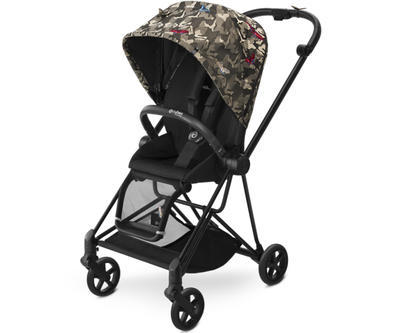 Kočárek CYBEX Set Mios Black Fashion Butterfly 2018 - 2