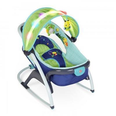 Lehátko BRIGHT STARTS Light Up Lagoon Rocker Napper 2015 - 2
