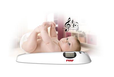 Digitální dětská váha REER s melodií 2021 - 2