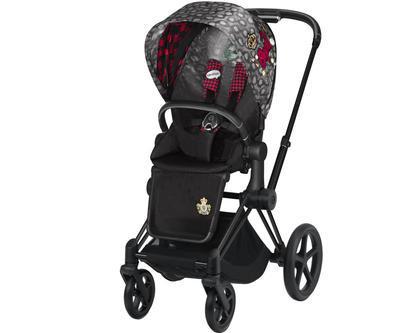 Kočárek CYBEX Priam Lux Seat Fashion Rebellious 2021 včetně korby - 2