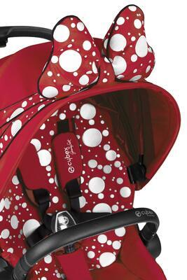 Kočárek CYBEX by Jeremy Scott Priam Seat Pack Petticoat Red 2021 - 2