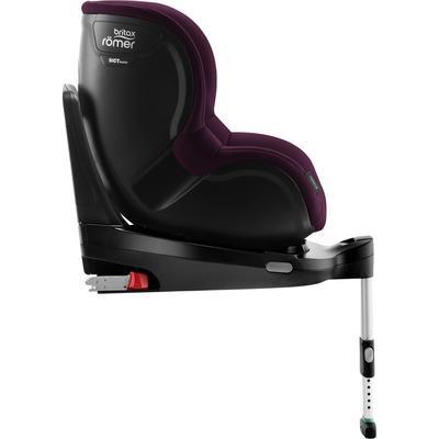 Autosedačka BRITAX RÖMER Dualfix M i-Size 2019, burgundy red - 2