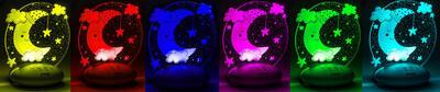 Barevné světlo REER ColourLumy Měsíc 2021 - 2