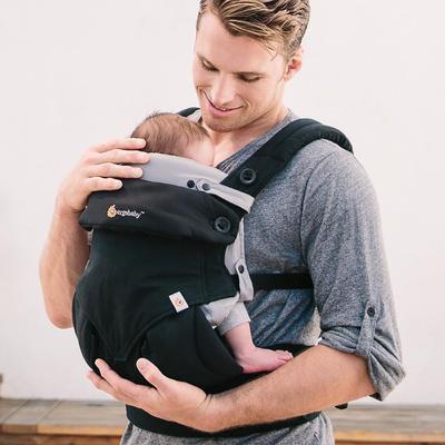 Vložka pro novorozence Easy snug ERGOBABY  2021, Original Grey - 2
