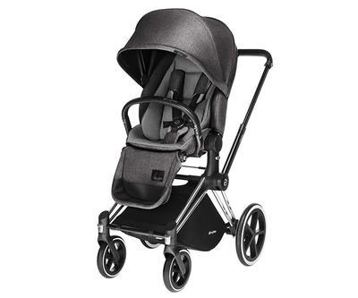 Kočárek CYBEX Set Priam All Terrain 2018 + ZDARMA Cloud Q Plus, manhattan grey - 2