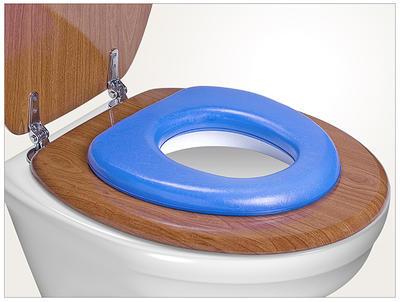 WC sedátko REER Soft 2021, modrá - 2