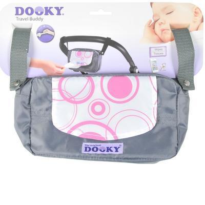 Organizér DOOKY Travel Buddy 2017, pink circles - 2