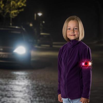 Reflexní páska REER s LED světlem 2021, růžová - 2