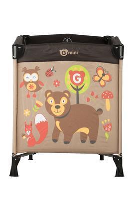 Cestovní  postýlka GMINI Nyja Lesní zvířátka 2016 - 2