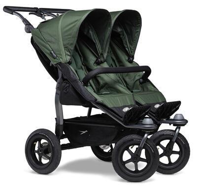 Sportovní sedačka TFK Stroller Seats Duo 2021, oliv - 2