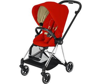 Kočárek CYBEX Mios Chrome Black Seat Pack 2021 včetně korby, autumn gold - 2