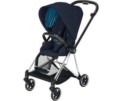 Kočárek CYBEX Mios Chrome Black Seat Pack 2021 včetně korby - 2