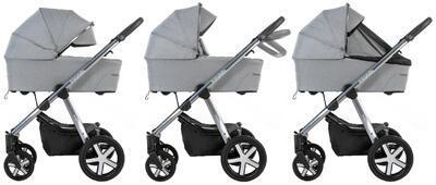 Kočárek BABY DESIGN Husky XL 2022 včetně Aton 5, 205 - 2