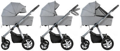 Kočárek BABY DESIGN Husky XL 2022 včetně Aton 5, 207 - 2