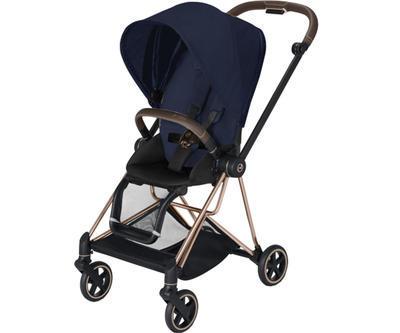 Kočárek CYBEX Mios Rosegold Seat Pack PLUS 2021 včetně korby, midnight blue - 2