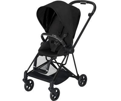 Kočárek CYBEX Mios Matt Black Seat Pack PLUS 2021 včetně korby, stardust black - 2