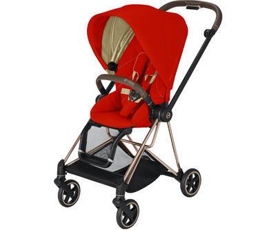 Kočárek CYBEX Mios Rosegold Seat Pack 2021 včetně korby, autumn gold - 2