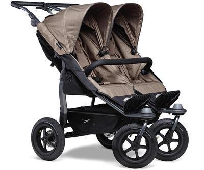 Kočárek TFK Duo Stroller Air Wheel 2021 včetně Duo Combi a 2 autosedaček - 2