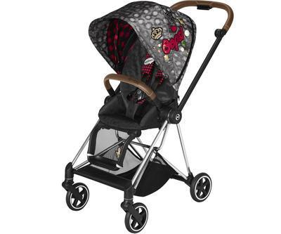 Kočárek CYBEX Set Mios Seat Pack Fashion Rebellious 2021 včetně autosedačky - 2