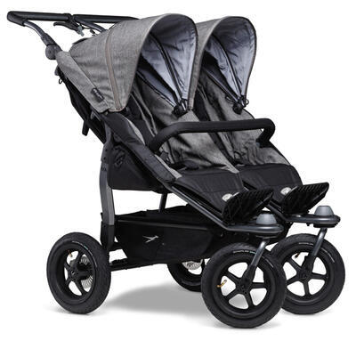 Sportovní sedačka TFK Stroller Seats Duo 2021, premium grey - 2
