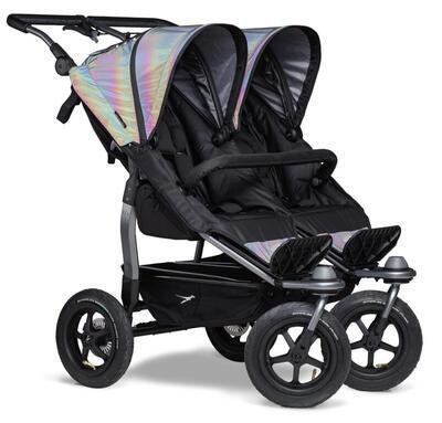 Sportovní sedačka TFK Stroller Seats Duo 2021, glow in the dark - 2