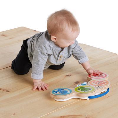 Dřevěná hudební hračka BABY EINSTEIN Bubny Magic Touch HAPE 6m+ 2020 - 2