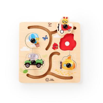 Dřevěná hračka BABY EINSTEIN Puzzle Paths to Adventure HAPE 12m+ 2020 - 2