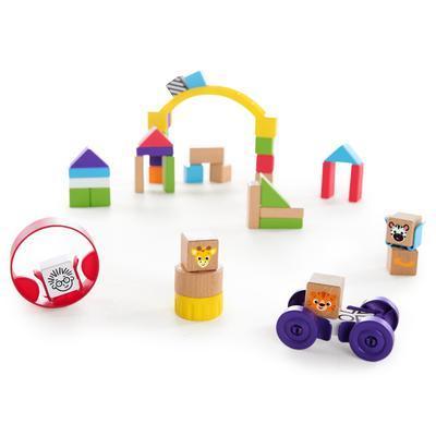 Dřevěná hračka BABY EINATEIN Stavebnice Curious Creations Kit HAPE 12m+ 2020 - 2