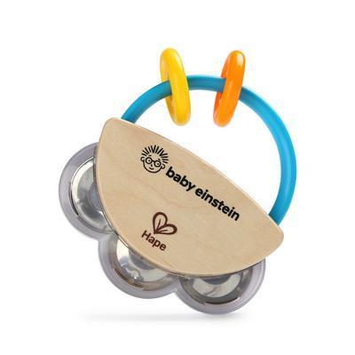 Dřevěná hudební hračka BABY EINSTEIN Tamburína Magic Touch HAPE 3m+ 2020 - 2