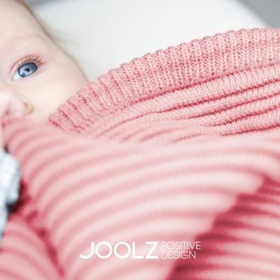 Deka žebrovaná-ribbed JOOLZ essential 2019, pink - 2