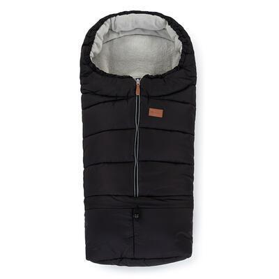 PETITE&MARS Zimní set fusak Jibot 3v1 + rukavice na kočárek Jasie 2021, black - 2