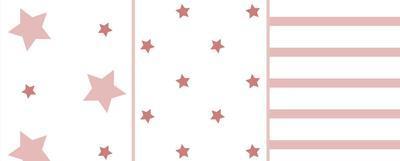 Plenky ODENWÄLDER Stars and Stripes 80X80 cm 3 ks 2019 - 2