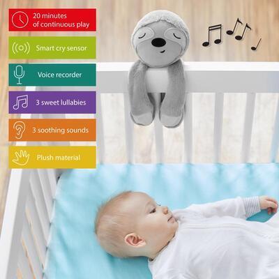 SKIP HOP senzor pláče inteligentní s možností nahrání hlasu rodiče Lenochod - 2