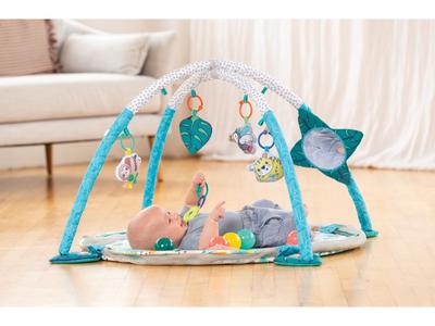 Hrací deka s hrazdou a ohrádkou INFANTINO 3v1 Jumbo 2020 - 2