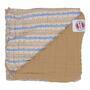 Deka LODGER Dreamer Muslim Stripe Xandu 120x120 cm 2020, honey - 2/4