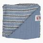 Deka LODGER Dreamer Muslim Stripe Xandu 120x120 cm 2020, ocean - 2/4