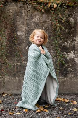 Deka VINTER & BLOOM Cuddly 2020, sage green - 2