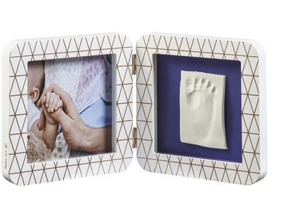 Rámeček BABY ART My Baby Touch Simple 2021, copper edition white - 2
