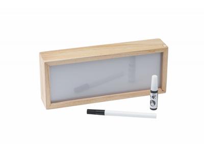 Dřevěný světelný box BABY ART Light Box with Imprint 2021 - 2